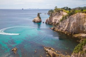 Cathedral Cove Top View