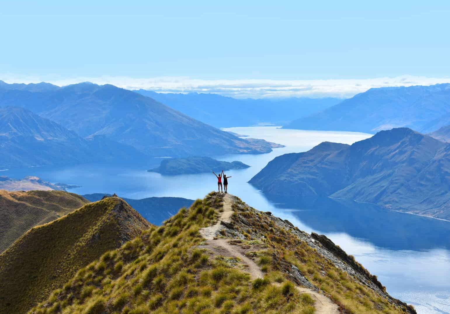 Conquering Mt Roy in Wanaka - New Zealand